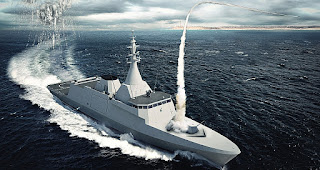Egyptian Navy receives first Gowind 2500 Corvette from France