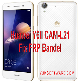 Flash Firmware Huawei CAM-L21 Fix FRP Bandel TESTED