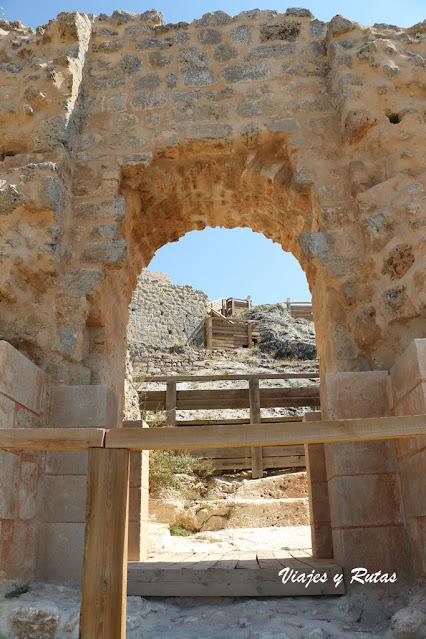 Puerta del Castillo de Osma