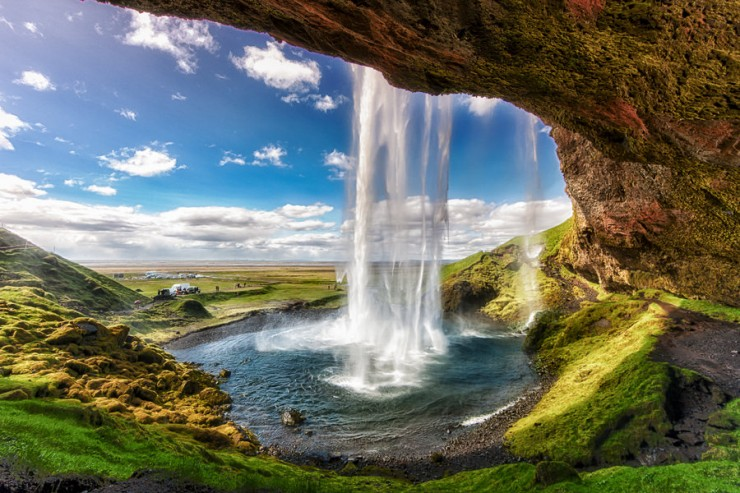 20 Spots In Europe You Must See Before You Die - Seljalandsfoss waterfall, Iceland