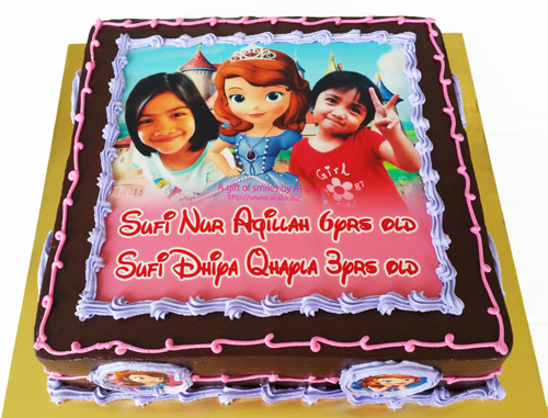 Sofia the first Birthday Cake