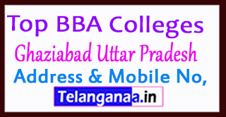Top BBA Colleges in Ghaziabad Uttar Pradesh