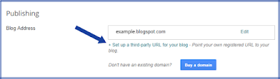 insert domain blogger