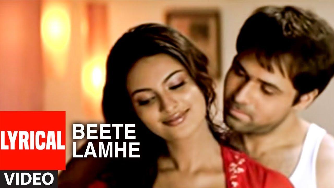 Beete Lamhe Lyrics The Train | K K | Emraan Hashmi