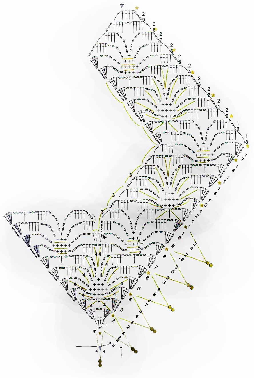 Atractivo Patrones De Cuello Crochet Embellecimiento - Ideas de ...