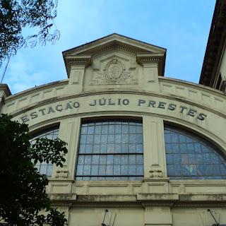 Fachada da Estação Júlio Prestes, São Paulo