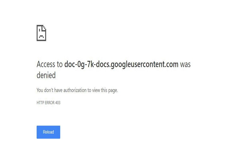 How to Fix Google Drive Authorization (HTTP 403) Error