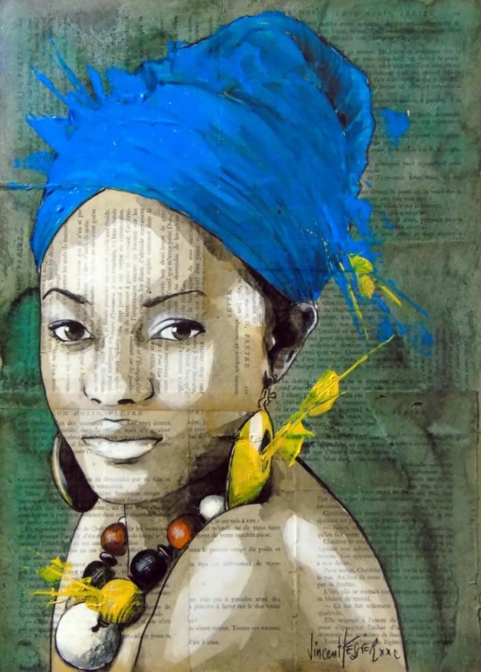 Французский художник. Vincent Tessier XXC