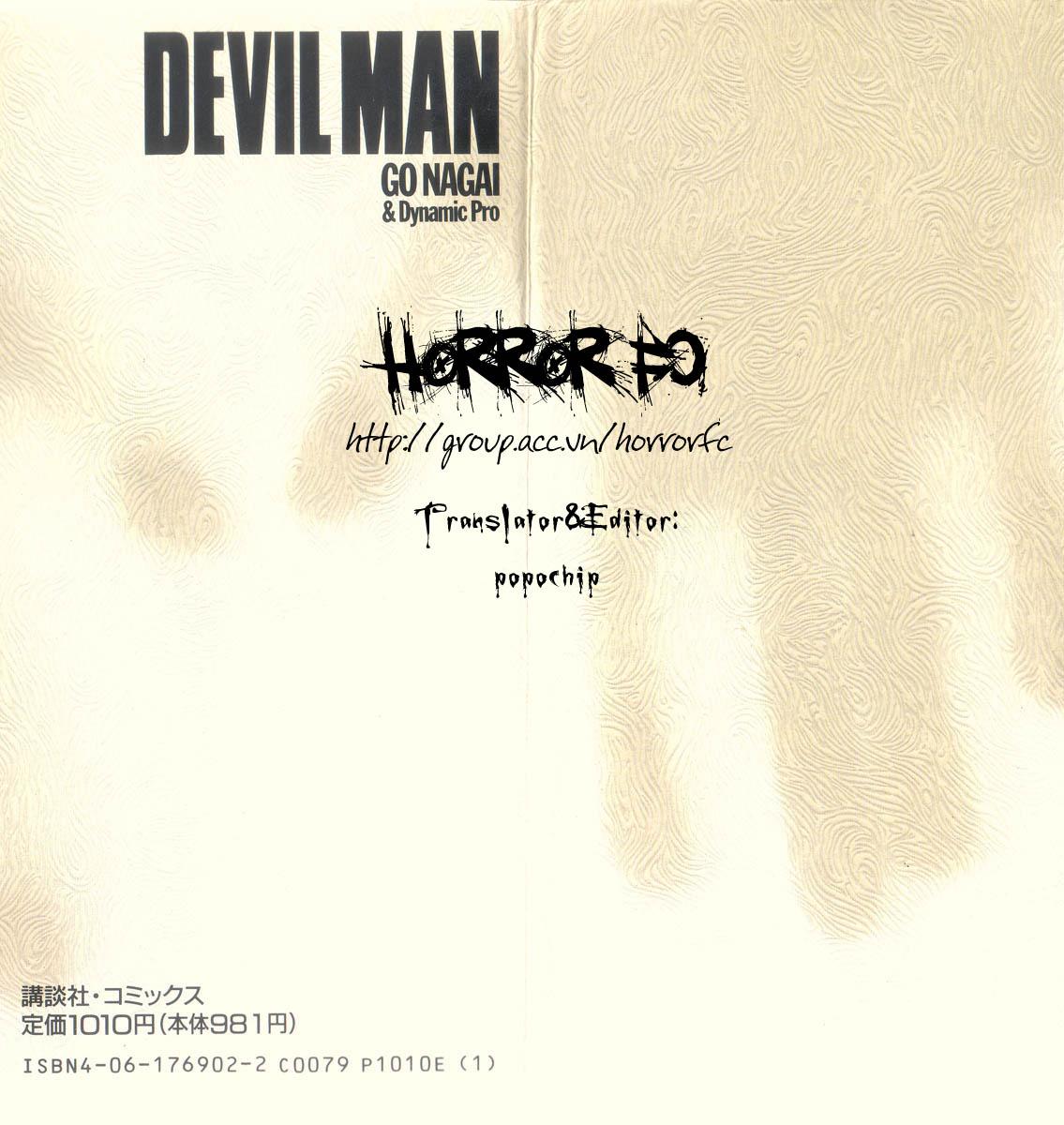 DevilMan chapter 1.1 trang 2