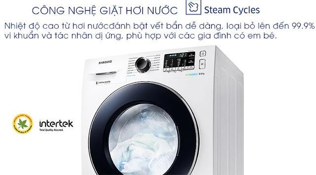 Máy giặt Samsung WW80J54E0BW/SV