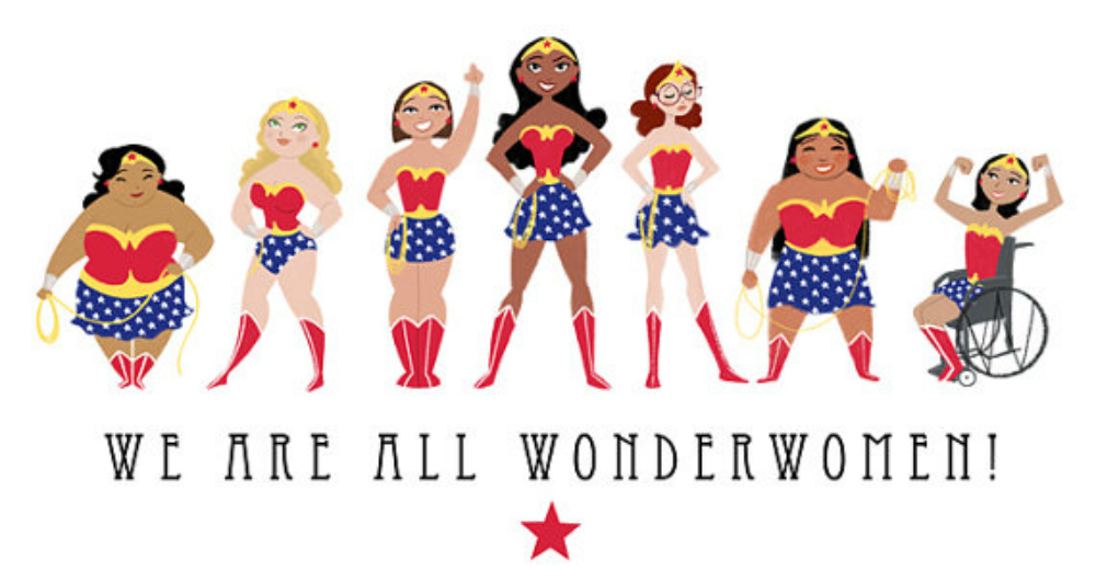 katiecrackernuts.blogspot.com.au | Satrun Twins Art Shop We Are All Wonder Women