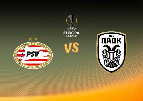 PSV vs PAOK  Resumen