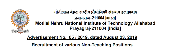 MNNIT Technical Assistant/ Technician Previous Papers, Junior Assistant  and Syllabus 2019