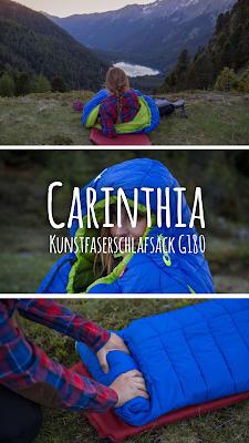 Gear of the Week #GOTW KW 24 | Carinthia Kunstfaserschlafsack G180 | Leichter Alpin-Schlafsack mit perfektem Wärme-Gewichts-Verhältnis