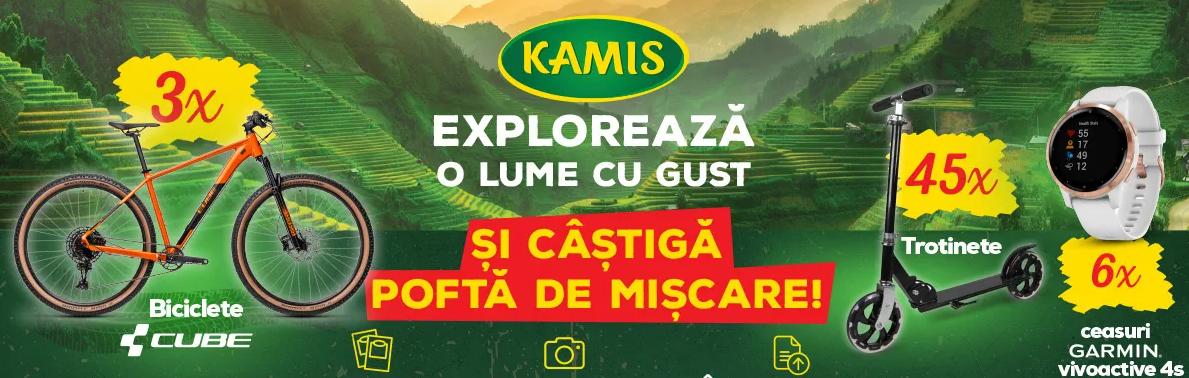 Concurs Kamis - Castiga 3 biciclete Cube Acid 2021 Ginger black sau 6 ceasuri Garmin Vivoactive 4s - 2021 - castiga.net