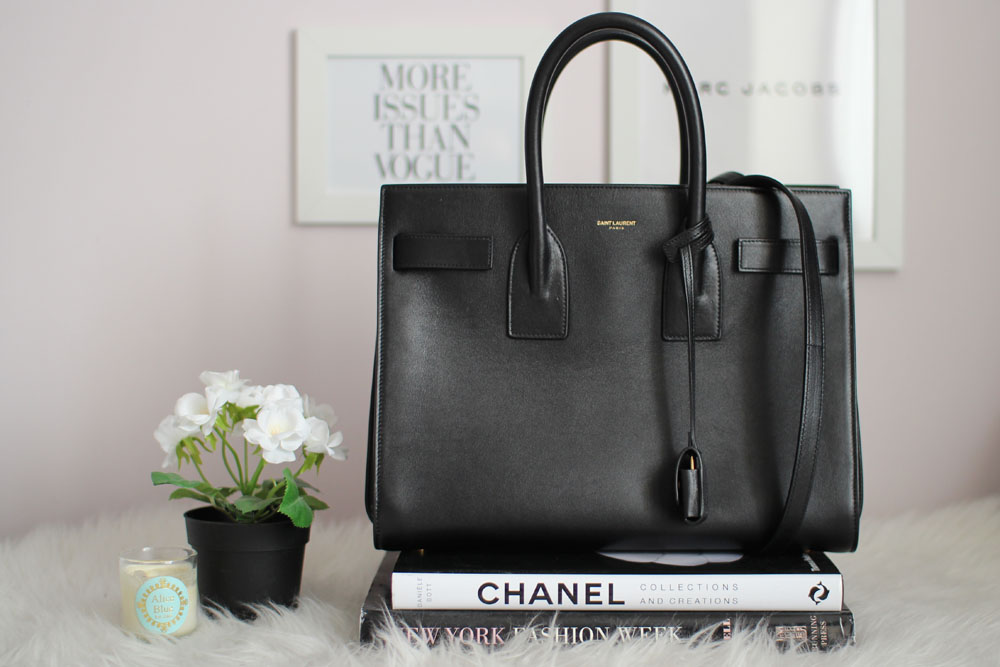 96c7248754a Read more to check out my review of the Saint Laurent Sac De Jour and shop  this item below!