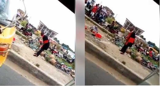 Man who swallowed snake In lagos