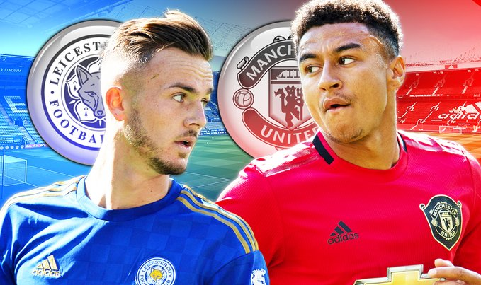 Wow! Man Utd Ready £45m Plus Jesse Lingard Offer For Leicester Star James Maddison