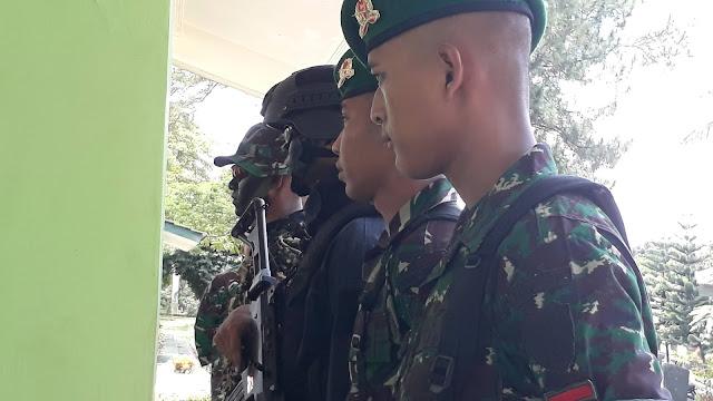 Belajar Bersama TNI YONIF 315 Bogor