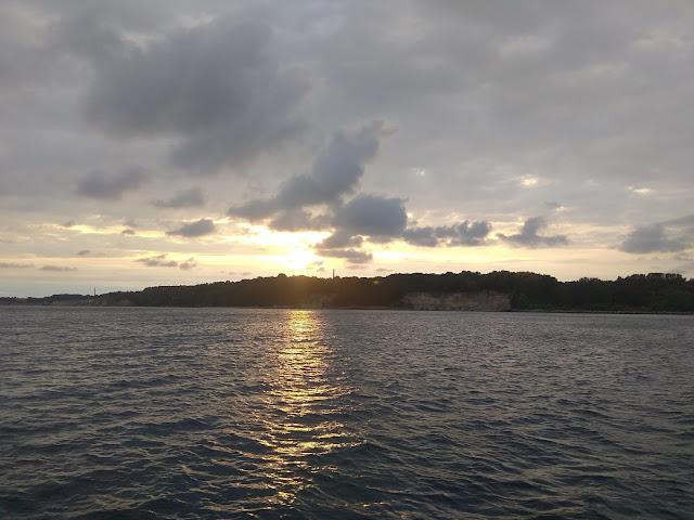 Klify Rugii od strony morza