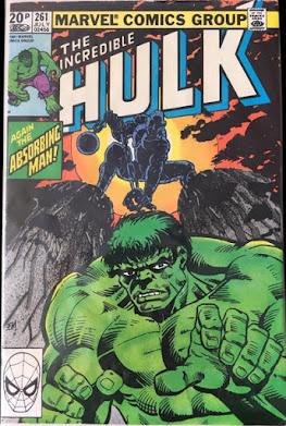 Incredible Hulk #261, the Absorbing Man