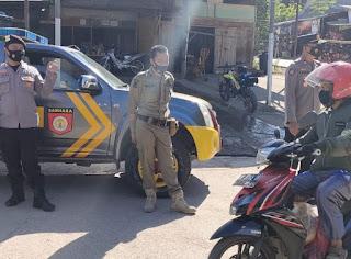 Operasi Yustisi Yang Terus Dilaksanakan Personel Polsek Malua Polres Enrekang