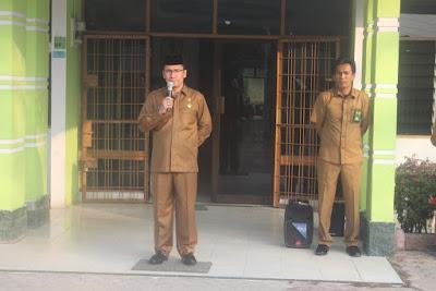 Kakankemenag Tanjungbalai Pimpin Apel Pagi Perdana
