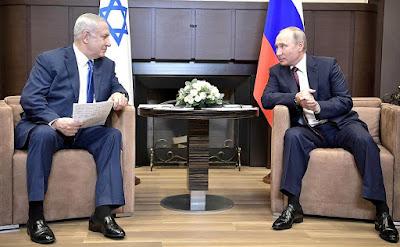 Vladimir Putin met with Prime Minister of Israel Benjamin Netanyahu.