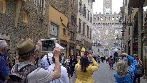 Ingressos para o tour caminhada atrações topo Florença
