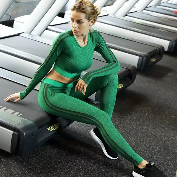 Women Fitness Leggings & Tops