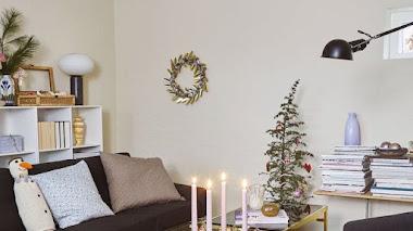 Navidad en colores pastel: una casa que demuestra que puede quedar espectacular