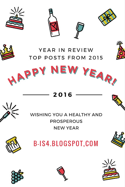 Happy New Year 2016, Popular Blog Posts