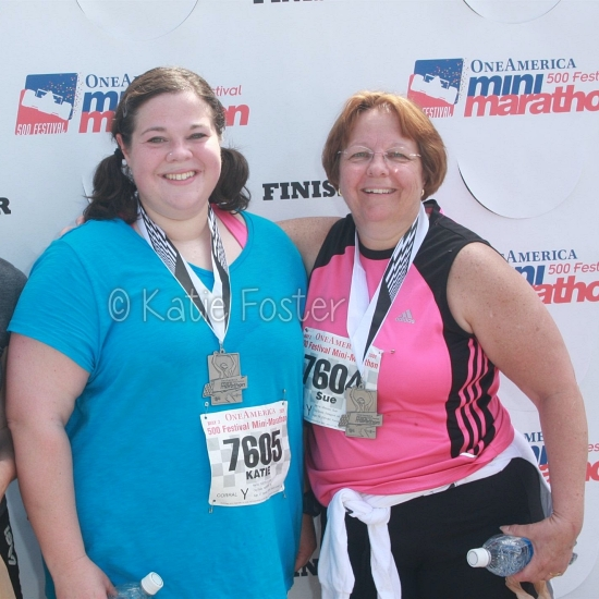 Post race photo 2009