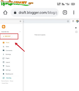 How To Write New Post In Blogger