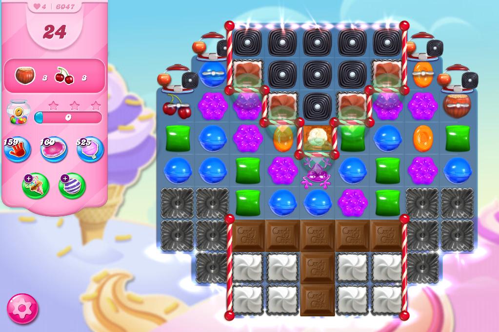 Candy Crush Saga level 6047