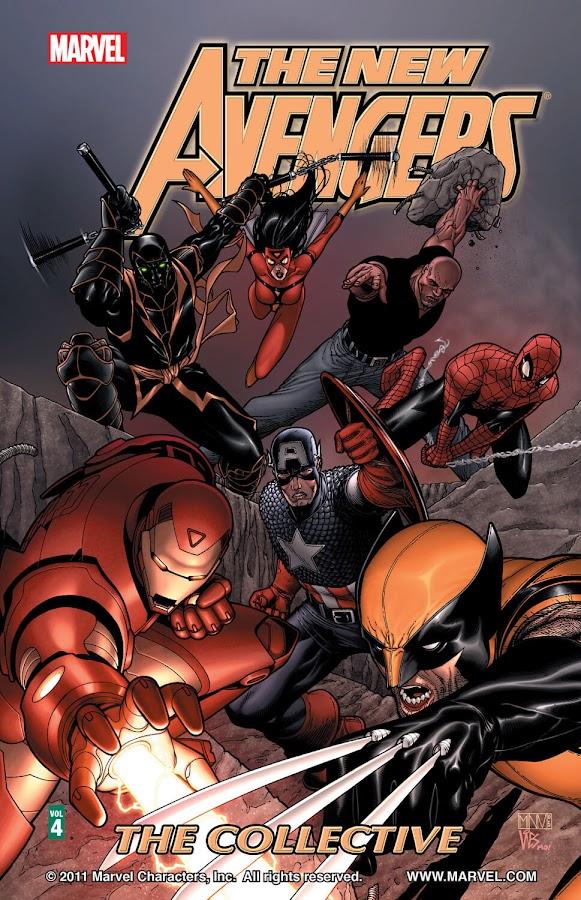 new avengers collective marvel comics brian michael bendis steve mcniven
