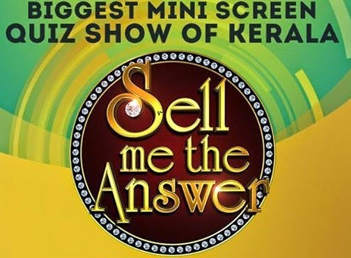SELL ME THE ANSWER- Malayalam Quiz show on Asianet:
