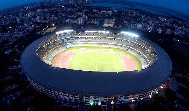 Estádio Salt Lake – Kolkata - Índia