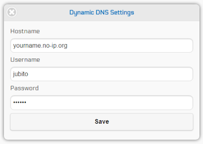 Dynamic DNS update support for No-IP