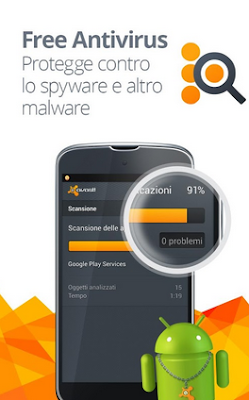 AVAST MOBILE SECURITY ANTIVIRUS PER SMARTPHONE E TABLET ANDROID