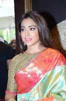 Shriya Saran Looks Stunning in Silk Saree at VRK Silk Showroom Launch Secundrabad ~  Exclusive 103.JPG