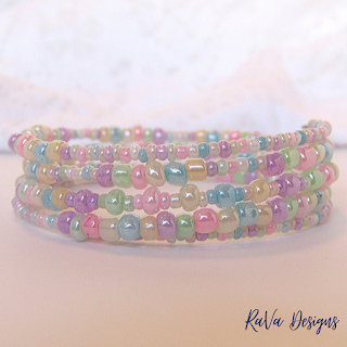 pastels beads bracelet pattern ideas crafts crafting at home