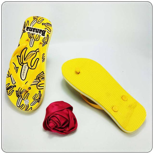 Sandal OTG  Banana TG Pabrik Sandal Spon Murah