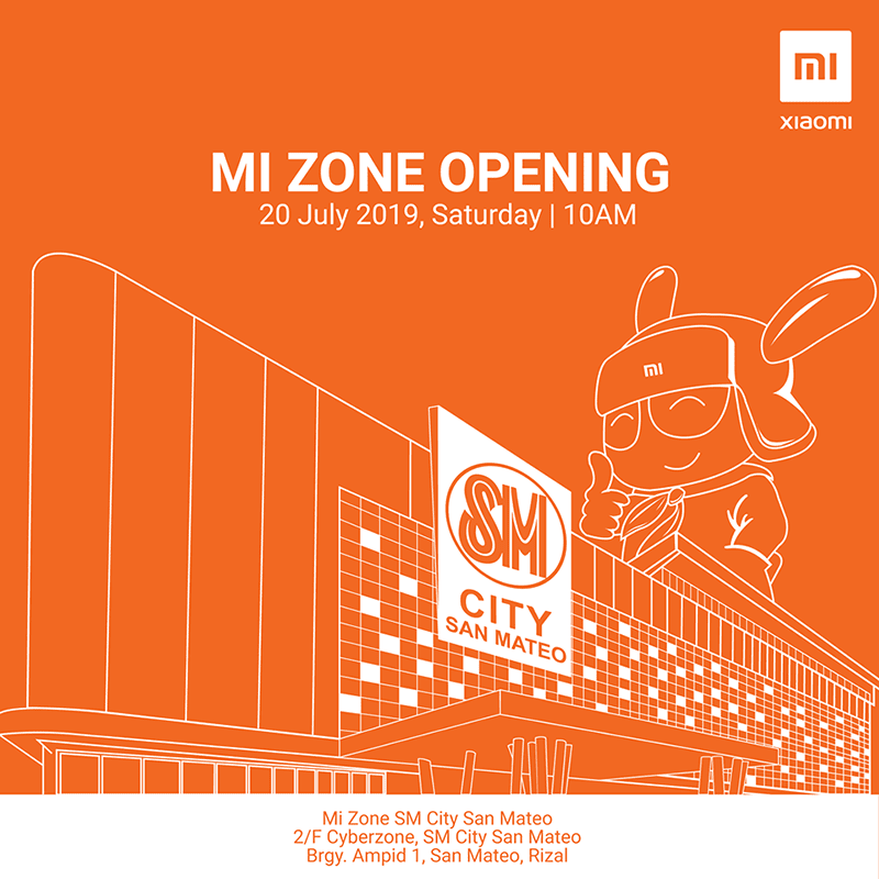Xiaomi Mi Zone is soon to arrive in SM City San Mateo
