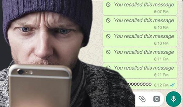 WhatsApp Gönderilen Mesajları Geri Alma