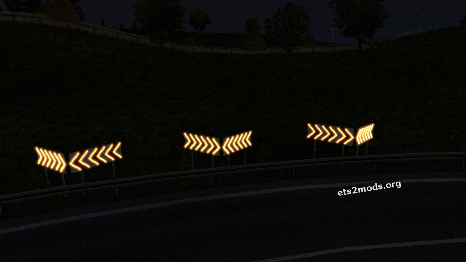 Dangerous turn lights mod