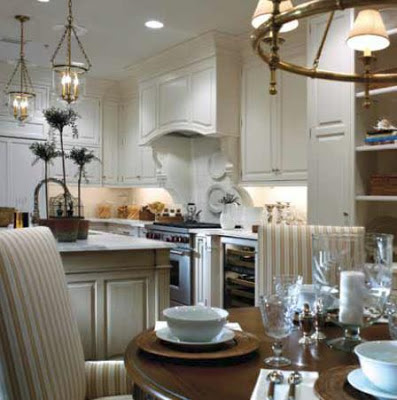 Athertyn at Haverford Reserve luxurious dining room/kitchen model