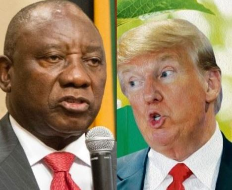 Trump jumps into South Africa land debate, govt hits back