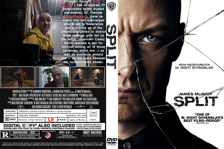 Split (2016)  720p BrRip [Dual Audio] [Hindi 5.1+English]