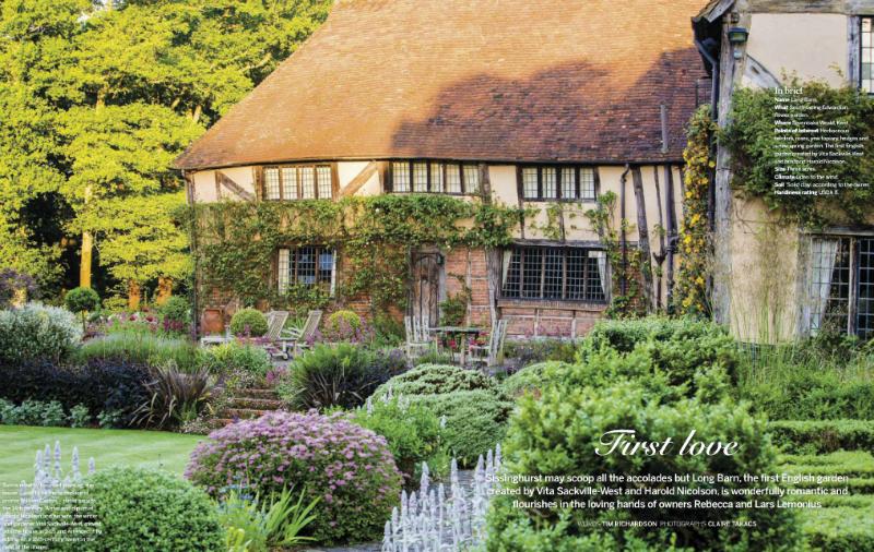 Long Barn Garden. El primer jardín de Vita Sackwille-West